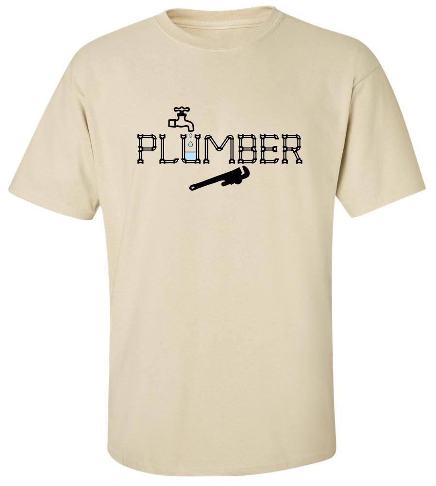 Plumber T Shirt Professional Tee