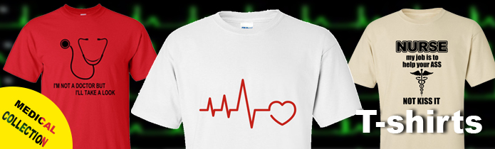 Medical/nursing t-shirts