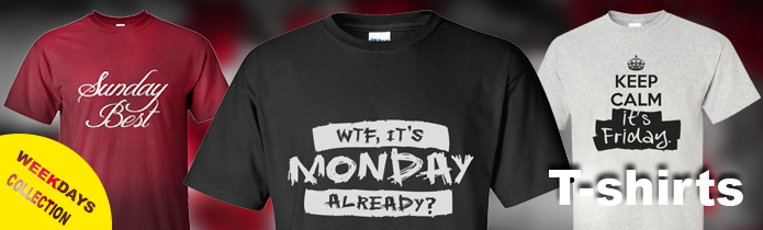 Weekdays T-shirts