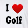 I Love Golf Long Sleeve T-Shirt