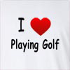 I Love Playing Golf Long Sleeve T-Shirt