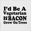 I'd Be A Vegetarian Hooded Sweatshirt