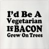 I'd Be A Vegetarian Crew Neck Sweatshirt