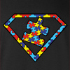 Autism is a Super Power Hooded Sweatshirt