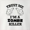 Trust Me I'am A Zombie Killer Crew Neck Sweatshirt