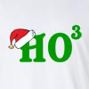 Ho Ho Ho Christmas Math Humor Long Sleeve T-Shirt