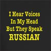 I Hear Voices In My Head But They Speak Russian