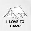 I Love Camp T-Shirt