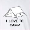 I Love Camp Long Sleeve T-Shirt