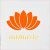 Namaste Lotus 2 Hooded Sweatshirt