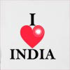 I Love India Ashoka Dharma Hooded Sweatshirt