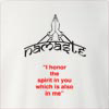 "Namaste "" I Honor The Spirit In You Which Is Also In Me"" Crew Neck Sweatshirt"