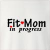 Fit Mom In Progress Crew Neck Sweatshirt
