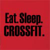 Eat Sleep Crossfit Hooded Sweatshirt