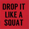 Drop It Like A Squat Hooded Sweatshirt