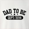 Dad To Be Sept/2014 Crew Neck Sweatshirt