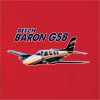 Beech Baron G58 Hooded Sweatshirt