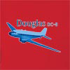 Douglas DC-3  Hooded Sweatshirt