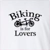 Biking Is For Lovers Long Sleeve T-Shirt