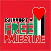 I Support A Free Palestine Hooded Sweatshirt
