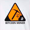 Bitcoin Miner Long Sleeve T-shirt
