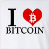 I Love Bitcoin Long Sleeve T-shirt