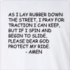 As I Lay Rubber Long Sleeve T-shirt