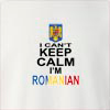 I Can't Keep Calm I'm Romanian Crew Neck Sweatshirt