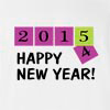 2015 Happy New Year T-shirt