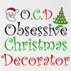 OCD Obsessive Christmas Decorator Hooded Sweatshirt