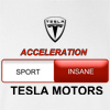Acceleration Sport Insane Tesla Motor Hooded Sweatshirt