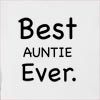 Best Auntie Ever Hooded Sweatshirt