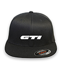 GTI Volkswagen Flex-fit Black Hat