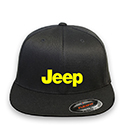 Jeep 03 logo Flex-fit Hat