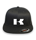 KAWASAKI Motor  logo Flex-fit Hat