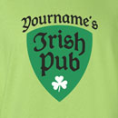 Saint Patrick's Day Your Name's Irish Pub T-Shirt