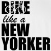 Bike Like a New Yorker NYC Likes Bikers Funny College T Shirt
