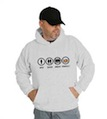 Bad Good Great Perfect Cadillac Hooded Sweatshirt