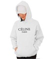 CELINE PARIS Hooded Sweatshirt