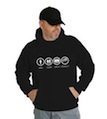 Bad Good Great Perfect Buick Hooded Sweatshirt