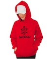 Keep Calm and Bazinga! Hooded Sweatshirt