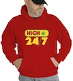 High 24/7  Hooded Sweatshirt