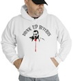 Halloween Drink Up Bitches Hooded Sweatshirt