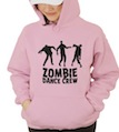 Halloween Zombie Dance Crew Hooded Sweatshirt