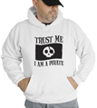 Halloween Trust Me I'm A Pirate Hooded Sweatshirt