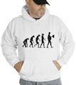 Evolution Beer Hooded Sweatshirt