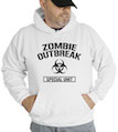 Zombie Outbreak Special Unit Hooded Sweatshirt