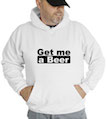 Get Me A Beer Hooded Sweatshirt