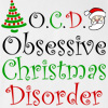 O.C.D Obsessive Christmas Disorder Hooded Sweatshirt