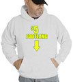 $5 (Five Dollar) Footlong Hooded Sweatshirt